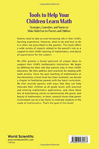 Tools To Help Your Children Learn Math: Strategies, Curiosities, And Stories To Make Math Fun For Parents And Children: 8 (Problem Solving in Mathematics and Beyond)