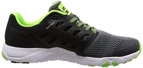 INOV-8 Nouveau Train 215 Chaussures de Sport Pour Hommes Chaussures de Sport Gris noir