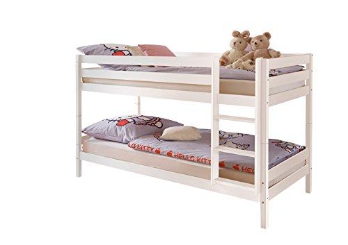 Etagenbett Moritz Buche : ᑕ❶ᑐ etagenbett weiß ▻ bestseller für ihr schlafparadies ✓das