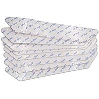 Amoy.B Teppich Anti-Rutsch-Matte zu Hause Umweltschutz Teppich Matte Anti-Rutsch feste Aufkleber size 130mm*25mm*2mm (white 8pcs P)