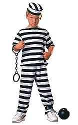 Rubie's Offizielles Haunted House Gefangenes Kostüm für Jungen, Größe M