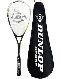 Dunlop Nanomax Ti Squash Raquette + Transport Étui