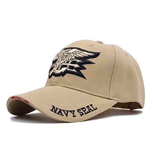 Laughingcv De Haute qualité pour Hommes US Navy Baseball Marine Navy Seals  Cap Tactical Army Cap f5b9f65b53e