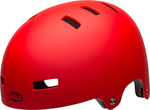 Bell Unisex Jugend Span Fahrradhelm, Matte red, XS