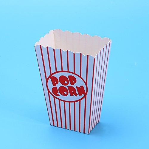 Toyandona Popcornboxen für Leckerlis, Cupcake-Wrapper, Süßigkeiten-Box, Partyzubehör, 20 Stück