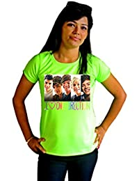 LetsFlaunt Nw I Love One Direction T-shirt T-shirt Girls Green Dry-Fit Nw