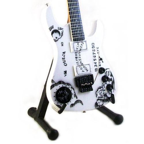 KIRK HAMMET - Replica IBANEZ OUIJA WHITE- chitarra in miniatura exclusive