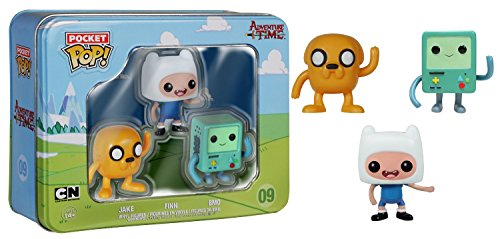 Funko - Pacchetto di 3 Figurine Adventure Time Pop 4Cm - 0849803048662