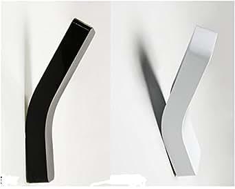 Amzdeal® 40W Applique Murale Puissante, Design Moderne, Elégant et Original, Lampe de Mur avec une Ampoule G9 (blanc)