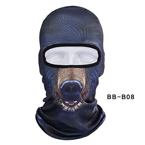 Romsion Mask - Pasamontañas 3D diseño Animales