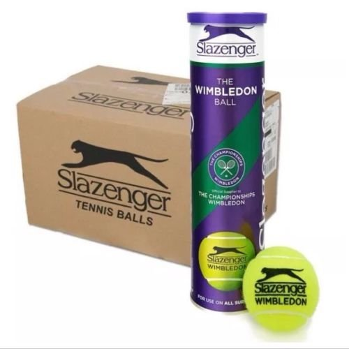 Slazenger Wimbledon Tennisbälle-6Dutzend-18x 4Ball Dosen