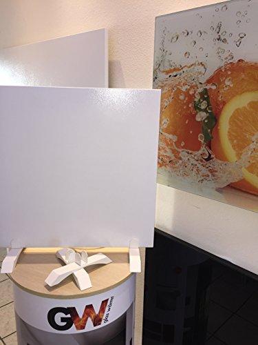 Standfuss Infrarotheizung IMP Metall Serie Glaswärmt Weiss