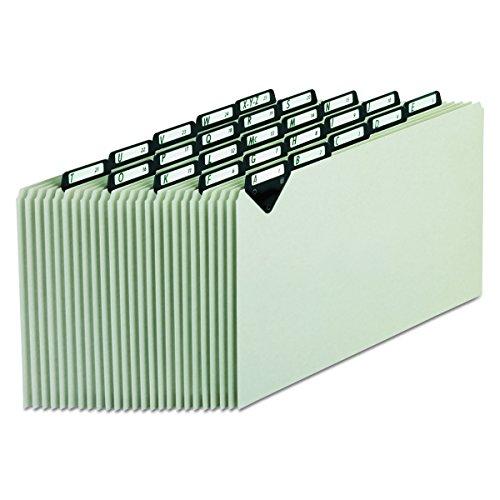 Pendaflex mtn1025Stahl Top Tab A-Z Datei Guides, 1/5Tab, Legal Größe, Grau, Pressspan, 25pro Set (mtn1025) (Größe Guide)