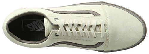 Vans UA Old Skool, Scarpe da Ginnastica Basse Uomo Avorio (C And D Cream/walnut)