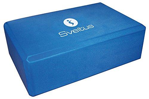 Sveltus ladrillo Yoga Azul 23x 15x 7.6