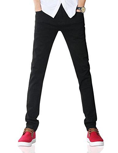 Demon&Hunter 808 Serie Uomo Magro Sottile Jeans DH8020(36)