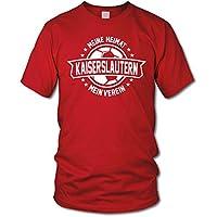 shirtloge - KAISERSLAUTERN - Meine Liebe, mein Verein - Fan T-Shirt - verschiedene Farben - Größe S - 3XL