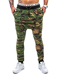 BOLF – Pantalons de sport – Jogging pantalons – MADMEXT 1144 – Homme