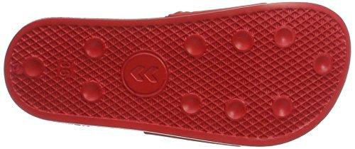 Hummel Unisex-Erwachsene Larsen Slipper SMU Dusch-& Badeschuhe Rot (True Red)