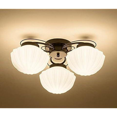 APSD-Iluminación cálida DIRIGIDA minimalista, moderna sala de ideas, dormitorio, atmósfera, redondo, lámpara de techo (52 * 20cm)