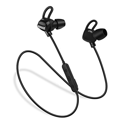 Bluetooth Headphones, Techvilla Wireless Earphones Waterproof Bluetooth 4.1 Stereo Sports