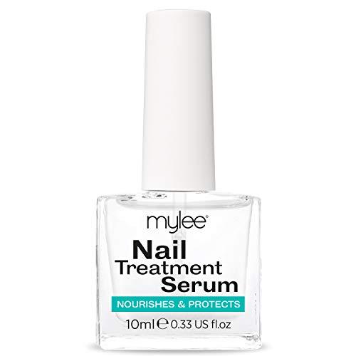 Mylee - Siero trattamento unghie 10ml - Olio completamente naturale per unghie e cuticole - rafforza, ripara e promuove una sana crescita delle unghie
