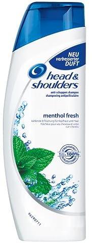 Head & Shoulders Anti-Schuppen Shampoo menthol fresh, 6er Pack (6 x 300 ml)