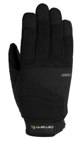 Carhartt Men's Tri Grip, Black, X-Large