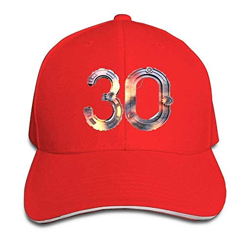 Fsrkje Baseball Caps Gear Ball-Game Star No.30 Unisex Snapbacks Cap Trucker Hats SK5382