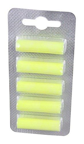 5 Deo Sticks Duftstäbchen für Staubsauger gelb Zitrone yellow lemon