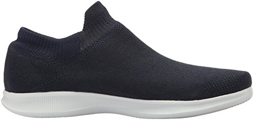 Skechers Go Step Lite-Ultrasock, Sneaker a Collo Alto Donna Blu (Navy/white)