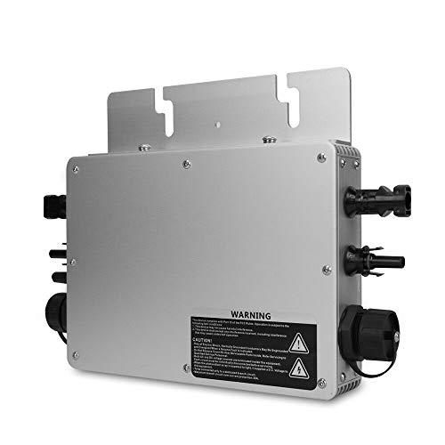 Wasserdichte IP65 Solar Grid Tie Micro Wechselrichter 600W WVC600 Micro-Wechselrichter Inversor für On Grid Solar Power System