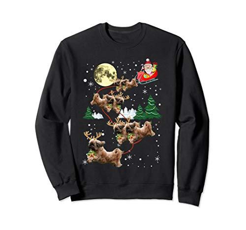 Funny Reindeer Shih Tzu Xmas Christmas Dog Lovers Gift Sweatshirt -