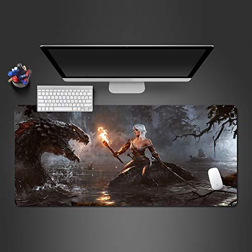 Regenbogen Wanduhr Mauspad Hohe Qualität Mauspad Spiel Team Gummi Spiel Computer Tastatur Spiel Pad Spieler 900x400x2