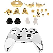 Imported Full Housing Shell Case + Golden Button Parts for Xbox One Game Controller