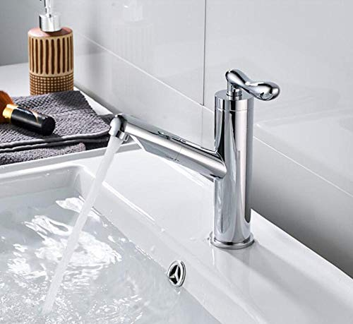 Wasserhahn Küchenarmatur Single Cold Pull Out Basin Tap Cold Sink Tap Pull Out Laundry Tray Pull Out Single Cold Faucet Bathroom Single Cold Tap - Pull-out Tray