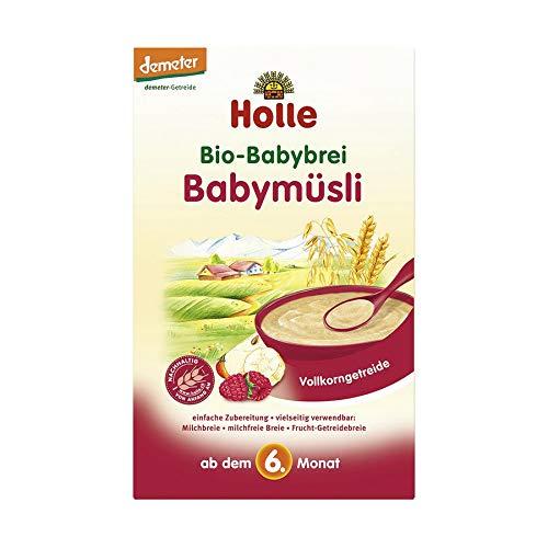 Holle Bio Bio-Babybrei Babymüsli (6 x 250 gr)