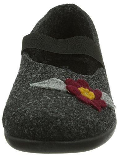 Rohde Ballerup Damen Pantoffeln Grau (83 Asphalt)