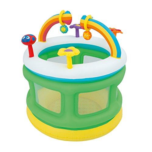 Bestway 52221 - Parque hinchable para niños, 109 x 104 cm, hasta 30 kg
