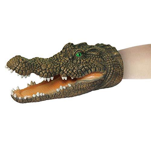 Handpuppe Spielzeug,krokodil Spiel Für Kinder Frühes Pädagogik Krokodil Handpuppe Tier Weiche Simulation Handpuppe Ungiftig Gummi Spielzeug Rollenspiel Spielzeug Kinder