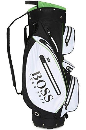 Hugo Boss Sac de golf chariot–Blanc–Noir–Vert SP16
