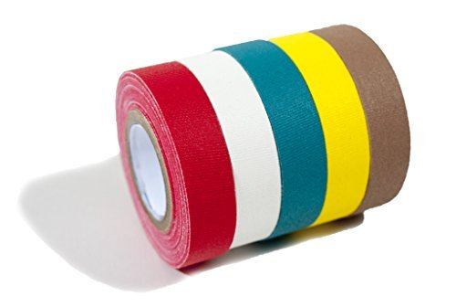 Glow X Professionelle Gaffer Tape - 5 Pack -