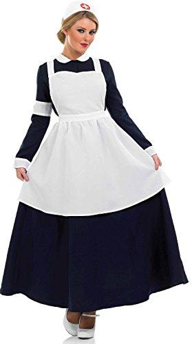 Fun Shack Viktorianische Krankenschwester - Adult Kostüm - XL - ()