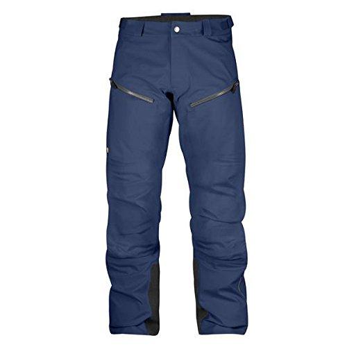 Reißverschluss An Der Seite-shell-hose (FJÄLLRÄVEN Herren Bergtagen Eco-Shell Hose, Mountain Blue, 48)