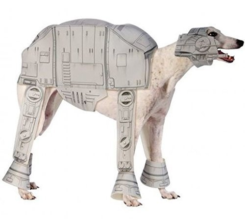 Atat Kostüm (Pet Dog Cat at-AT IMPERIAL Walker Star Wars Halloween Film Fancy Kleid Kostüm Outfit Kleidung Kleidung - ,)