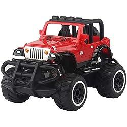 Angelof - Jouet - 1:24 Télécommande Camion RC Durables Voiture pour Enfants - IdéE Cadeau Unique - Personnalisé Black Blue Red