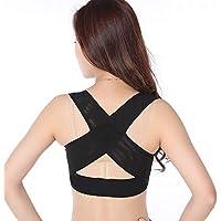 Posture Corrector Cinturón de corrección Corrector de Postura Ligero y Transpirable, Corrector jorobado, para Hombres y Mujeres Adultos (Color : A, Tamaño : L)