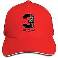 Mensuk Classic Chicago Skyline Flag Stars Flex Bill Hats Boys Peaked Adjustable Natural