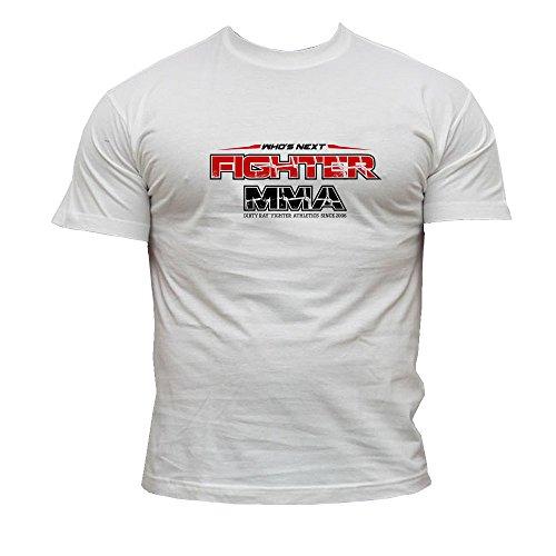 Dirty Ray Kampfsport MMA Fighter Who's Next Herren Kurzarm T-Shirt Abbildung 2