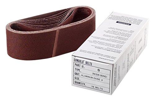 Sungold Abrasives 64569Aluminiumoxid x-weight Reinigungstuch 150Körnung tragbar Schleifbänder (8/Box), 7,6x 53,3cm